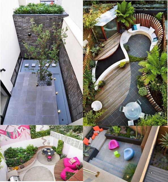 Decoración de Terrazas en Espacios Pequeños Terraces ~ Diseño y