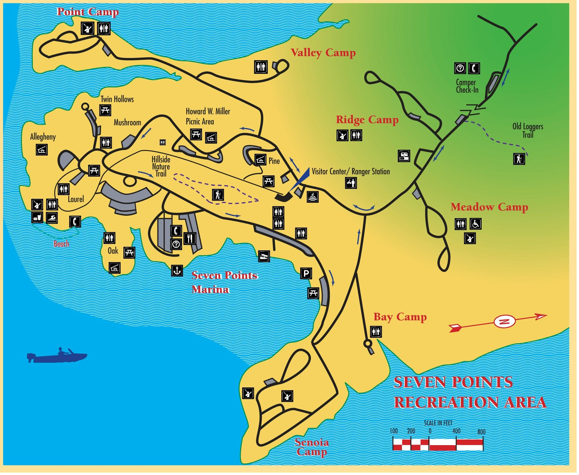 map of raystown lake Raystown Lake Recreation Area Lake Picnic Area map of raystown lake