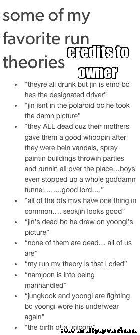 """See? Everyone is way off with the """"Jin is dead"""" , """"everyone but Jin is dead"""". PEOPLE! These are the true theories!"""