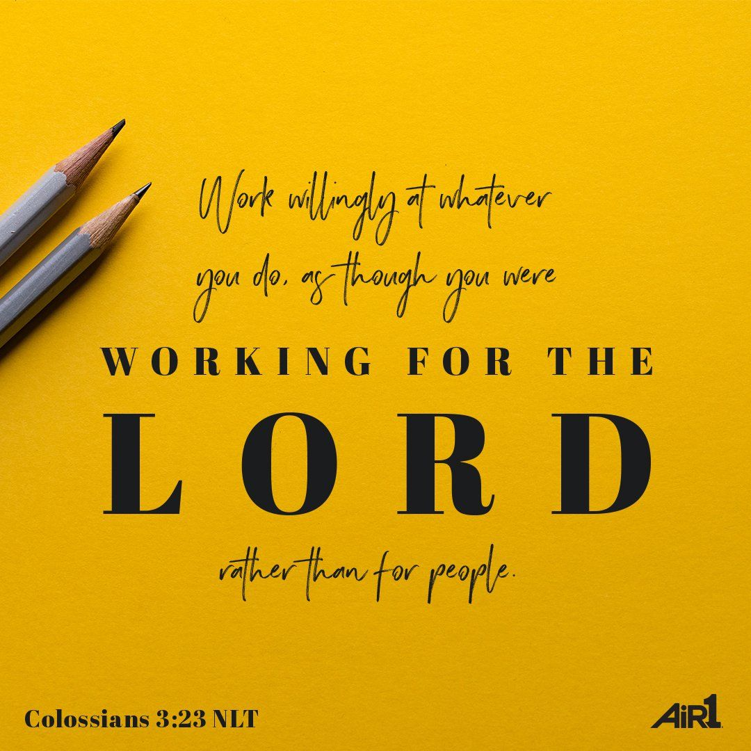 Colossians 3:23 | Verse of the Day | Pinterest | Christian facebook ...