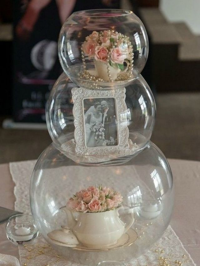 Bodas de cristal: decoración y souvenirs +44 fotos |  Revista de artesanía  – Boda