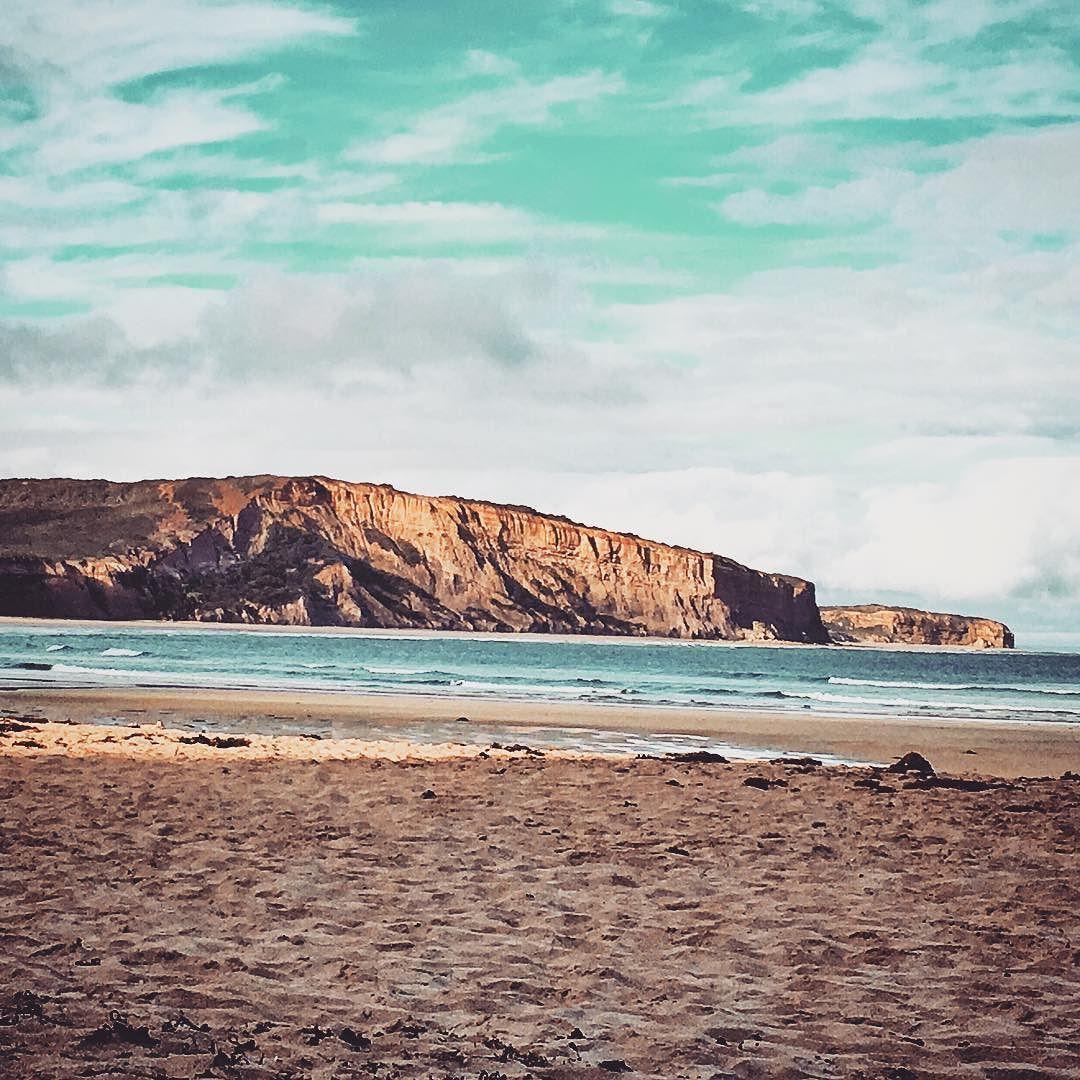 Looking to #bellsbeach afternoon light perfect #passionpassport #beach #sand #surf #ripcurl #ocean #water #australia #coast #greatoceanroad #wanderlust #kodak_photo #nomadculture #picoftheday  #filmphotography #travel #explore #love3228 #travelphotography #artistsmuseum #shootingtheglobe #travel_pics_daily #goexplorewander #worldtourists by nicoleandlife http://ift.tt/1KnoFsa