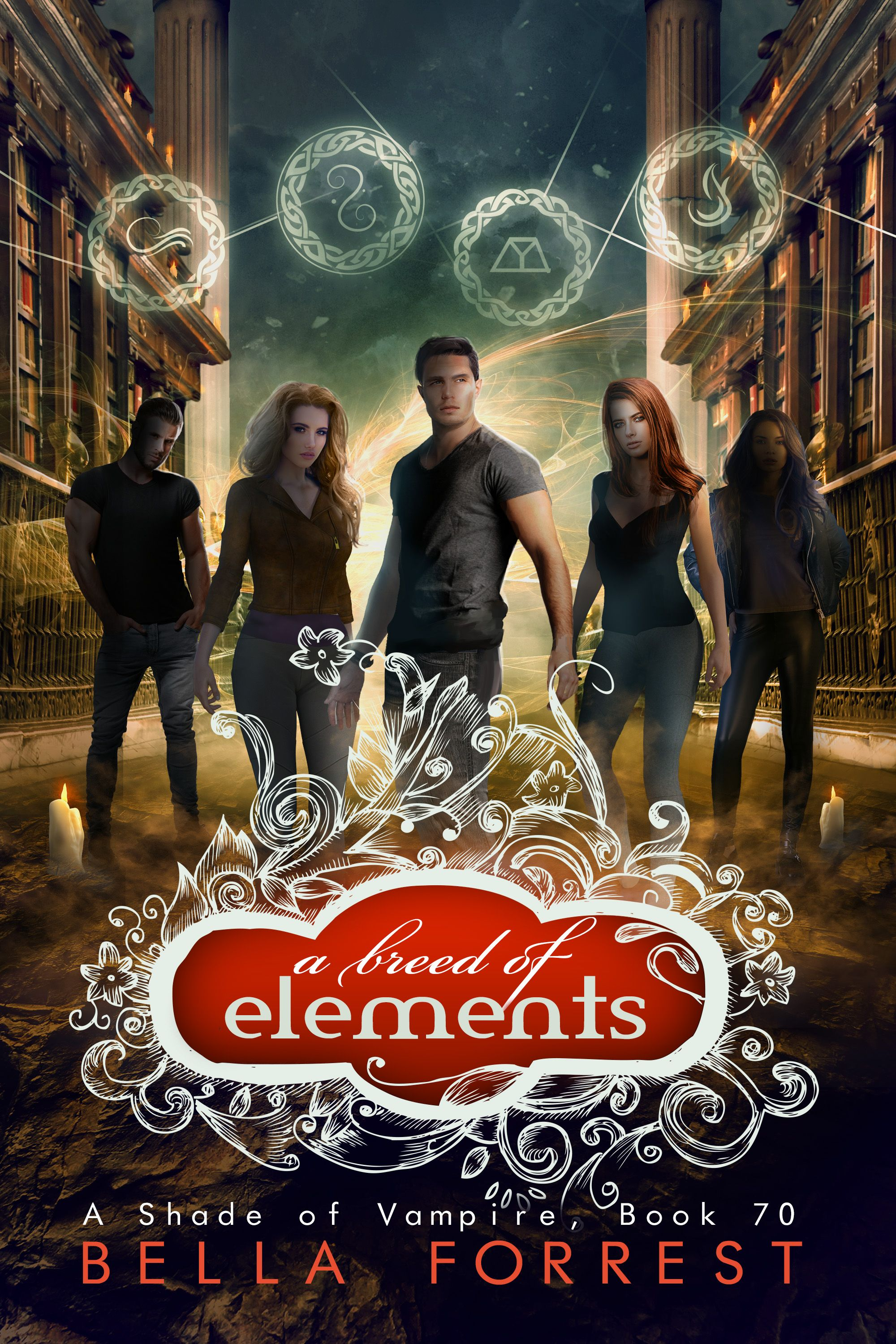 A Shade of Vampire 70: A Breed of Elements Ebook - viewbook