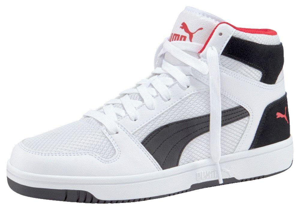 PUMA Sneaker 'Rebound LayUp' in rot schwarz weiß | Puma