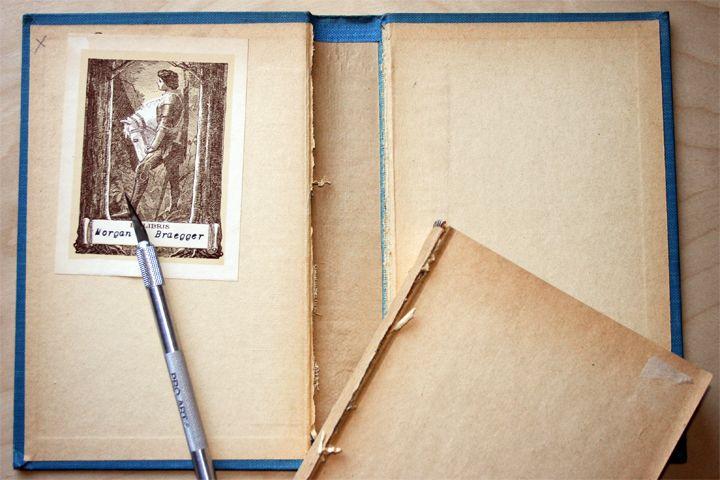 thrifty thursday old books get new lives altered books