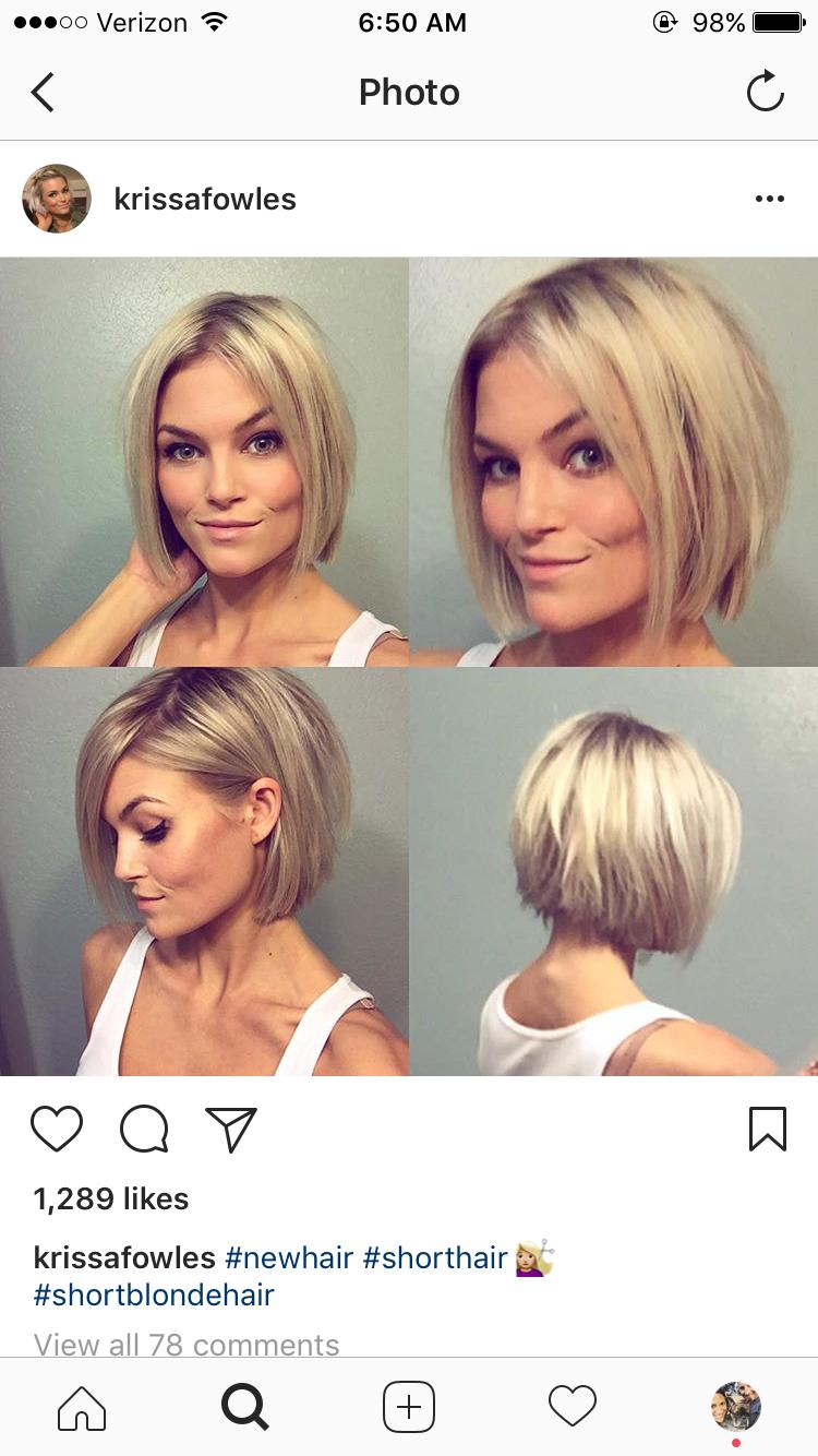 Pin by rhonda myers on easy hairstyles pinterest hair short