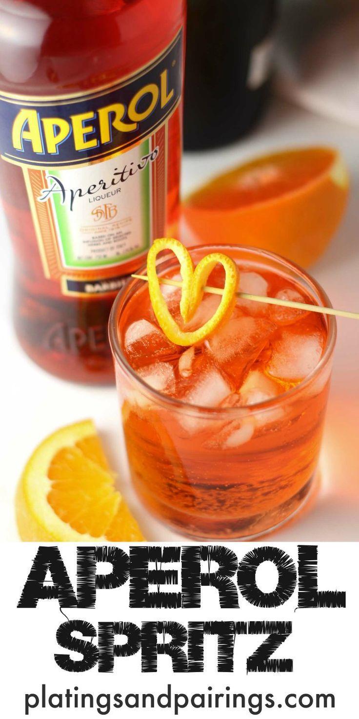 Aperol Pin | Drinking | Pinterest | Getränke, Leckereien und Lecker