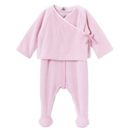Perfect for cold fall days! Petit Bateau Baby Girls Fashion 2 Piece Outfit // claradeparis.com