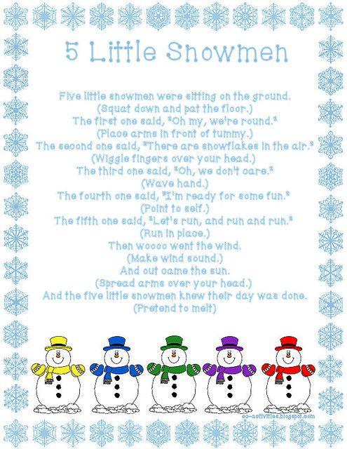 5-little-snowmen