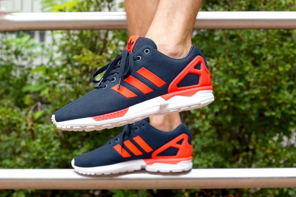 Adidas Zx Flux Blue And Orange