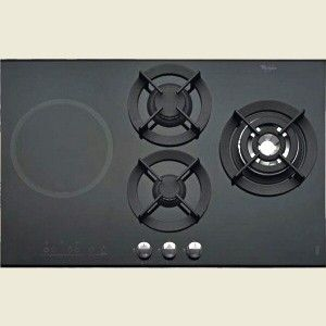Combination Gas U0026 Induction Hob By Whirlpool (AKT477IX). Available In The UK .