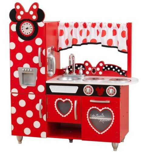 Minnie Mouse Kitchen Set Vintage Pretend Play Gifts Toy Children