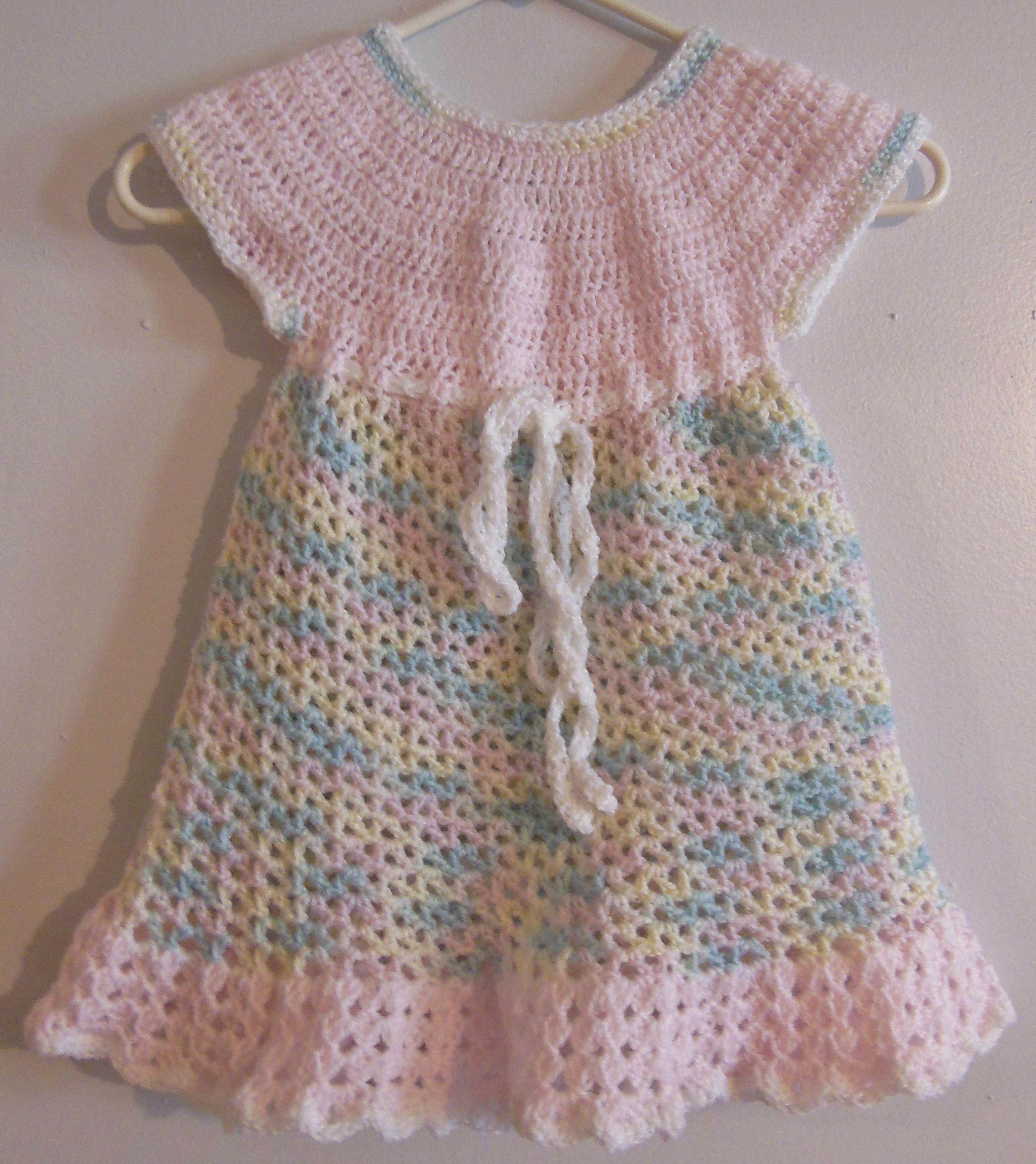 Dress I made for one of my 2 year old nieces using this pattern http ...