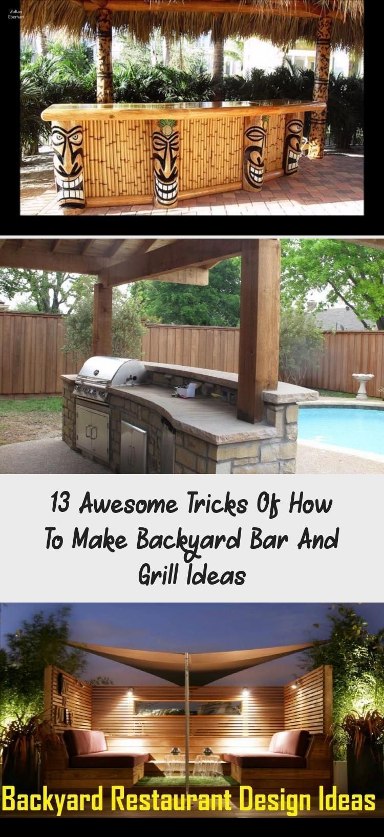 13 Awesome Tricks Of How To Make Backyard Bar And Grill Ideas Modern Outdoor K Awesome Back Backyard Bar Modern Outdoor Kitchen Outdoor Kitchen Lighting Modern backyard bar ideas