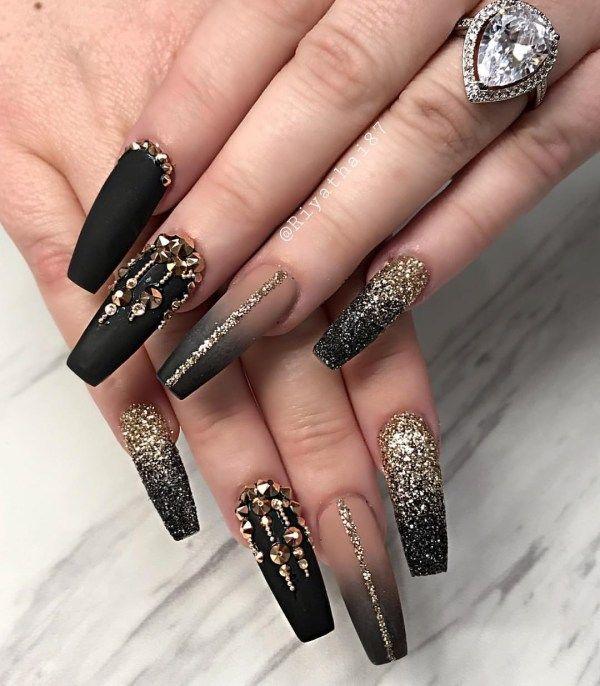 Elegant Rhinestones Coffin Nails Designs Nail Art 4u In 2020 Red Acrylic Nails Luxury Nails Pedicure Nails