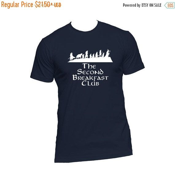 The Second Breakfast Club LOTR Fellowship by NerdGirlTees on Etsy