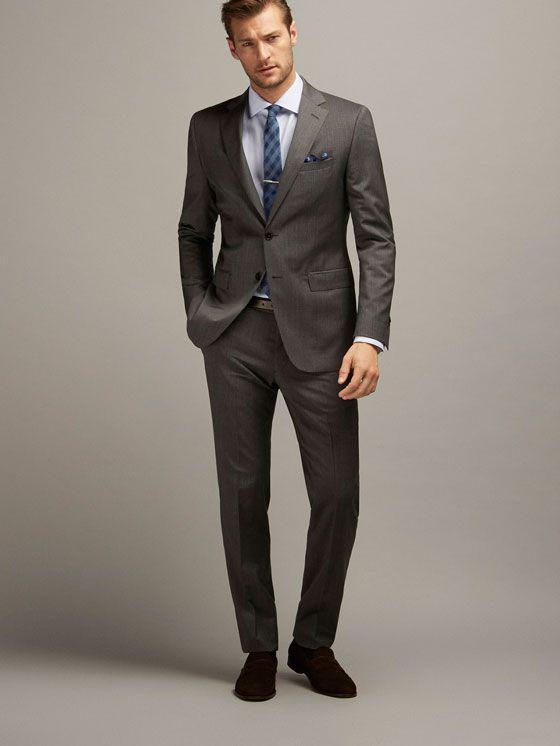 5a506594dd45 Ver tudo - Fatos - HOMEM - Massimo Dutti - Portugal. Elegant Men's Suits ...