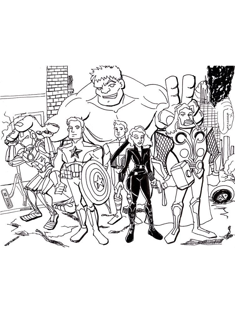 Avengers Coloring Pages For Adults Below Is A Collection Of Avengers Coloring Page That You C Avengers Coloring Avengers Coloring Pages Cartoon Coloring Pages