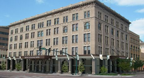 Old Mining Exchange Building Downtown Colorado Springs Renovated Into This 5 Star Hotel A Wyndham Grand Hotel Colorado Colorado Springs Grand Hotel