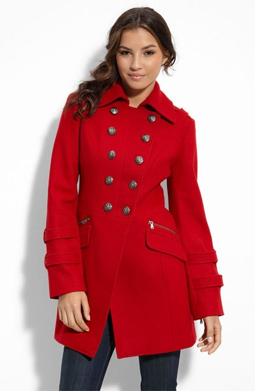 Military Coat | Red drama | Pinterest | Military, Coats and ...