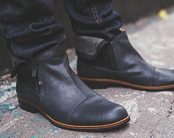 1000  ideas about Men's Leather Boots on Pinterest | Men's jeans ...