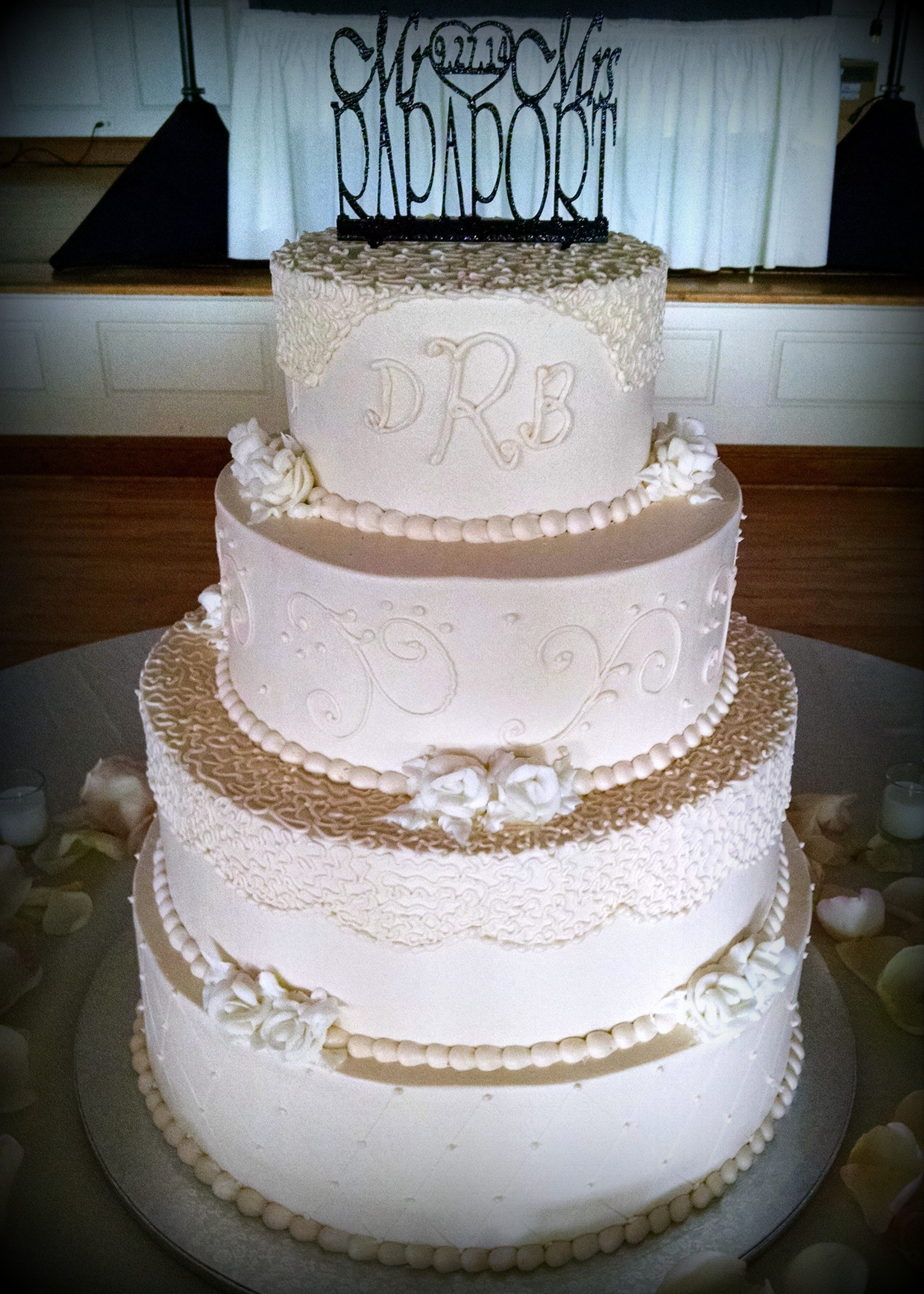 Pin by Adrienne & Co. Bakery on Wedding Cakes   Wedding