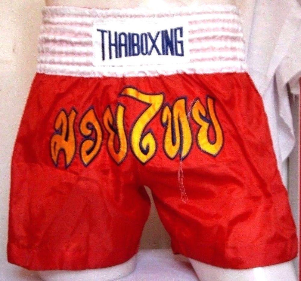 MMA Muay Thai Kick Boxing Shorts Pants Size S