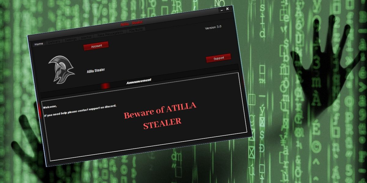 What Is Atilla Stealer App On My Computer Is It A Legitimate Application These Queries May Run In Your Mind If You E Cyber Security Stealer Security Patches