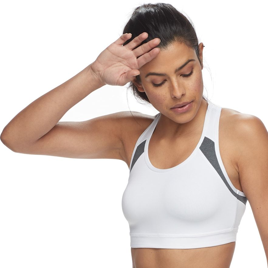 Tek Gear® Cross Back MediumImpact Sports Bra Fitness