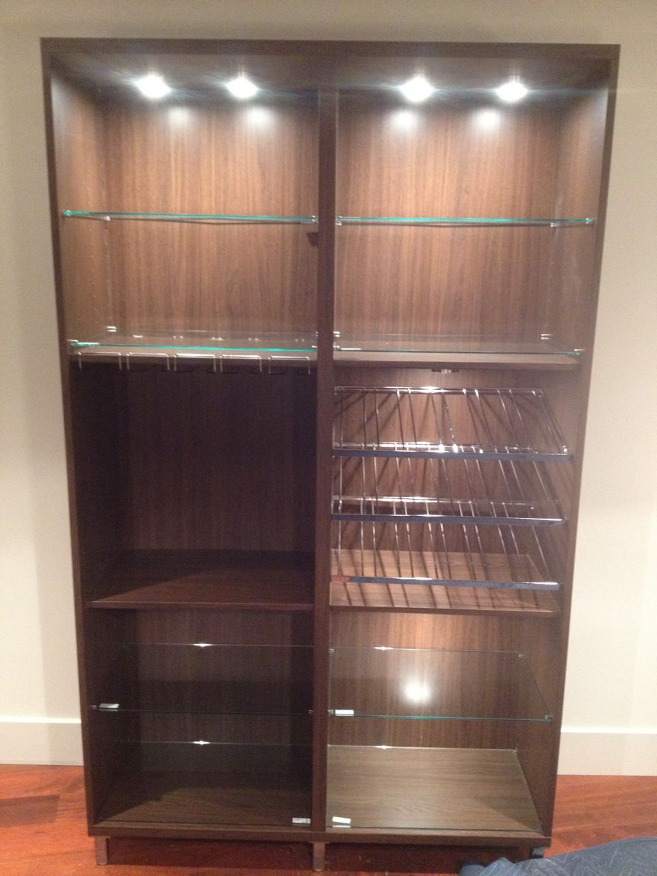 Ikea Tampa Besta Wine Cabinet Embly Rack With