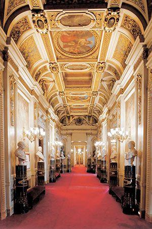 Visita gratuita do palácio do Senado francês