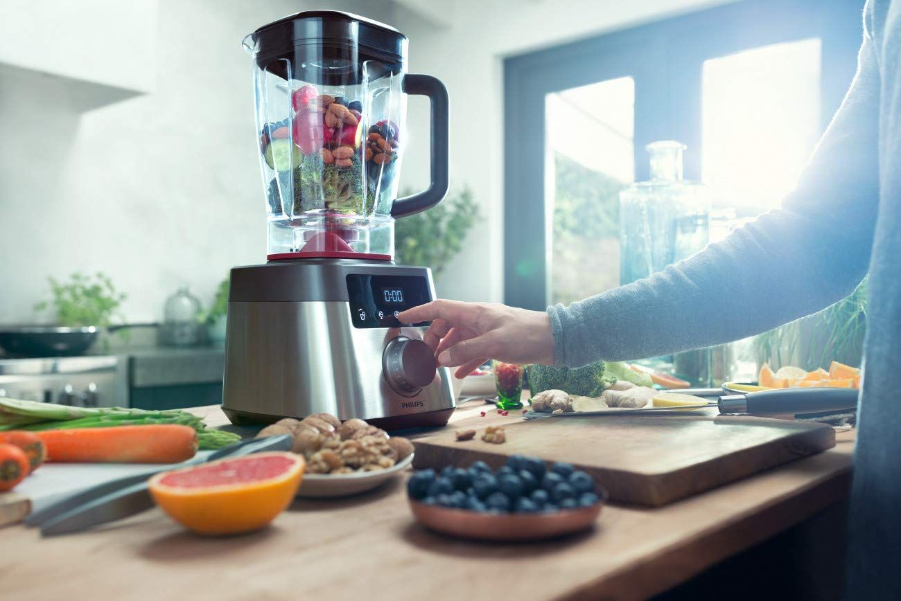 Philips Kitchen Appliances Hr3868 90 High Speed Power Blender With Problend Extreme Technology Black And Silv In 2021 Best Blenders Kitchen Blenders Healthy Smoothies