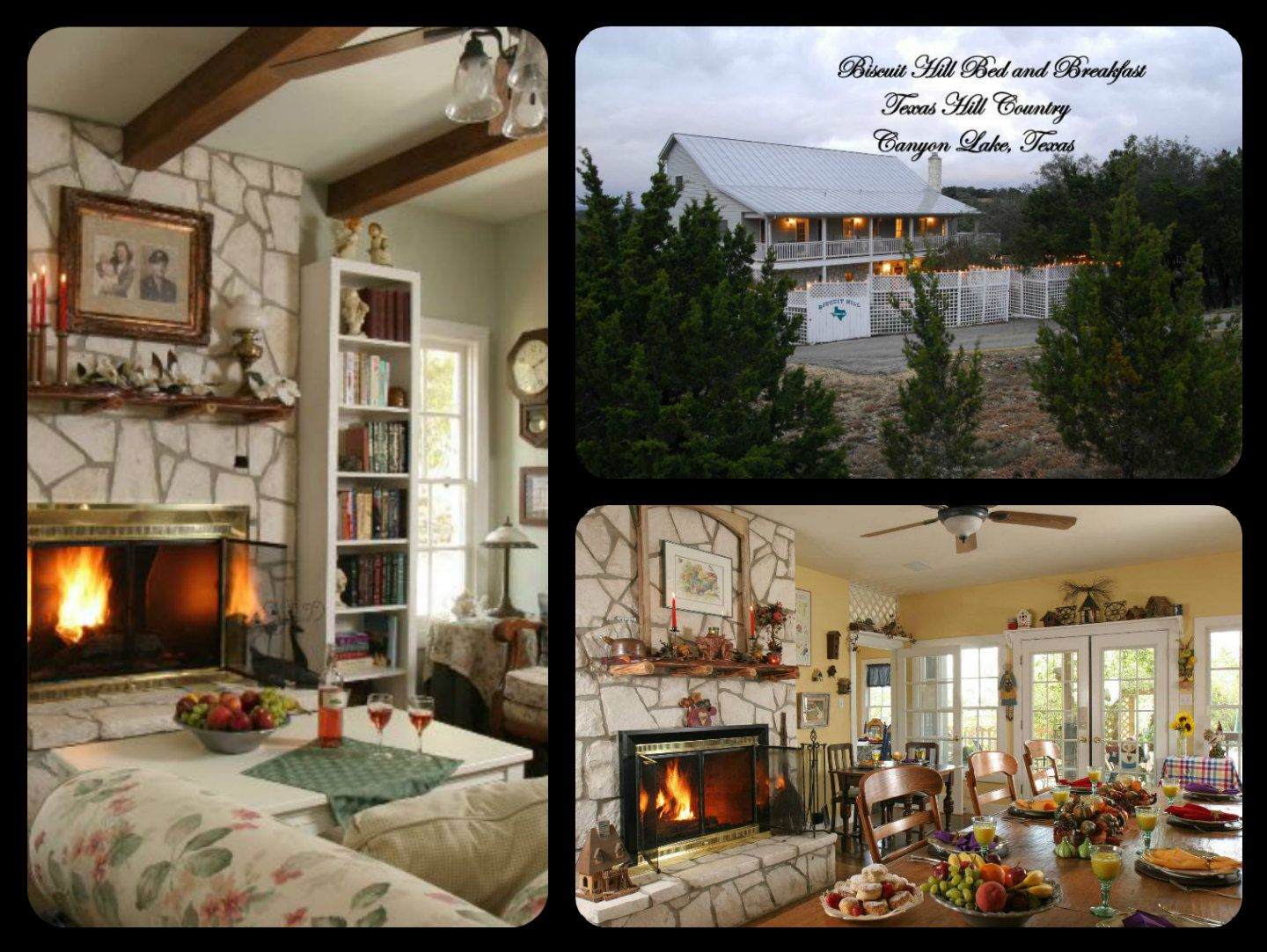 Biscuit Hill Bed and Breakfast in the Texas Hill Country