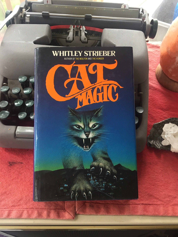 Vintage 1987 Hardback Cat Magic Whitley Streiber Horror Witches Reanimation The Wolfen The Hunger Dark Fantasy Aliens Dark Fantasy Horror Flowers In The Attic