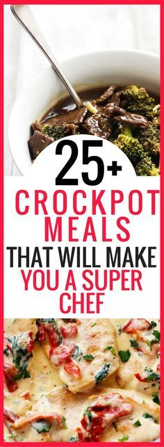 25+ Easy Crockpot Meals That Will Make You A Super Chef