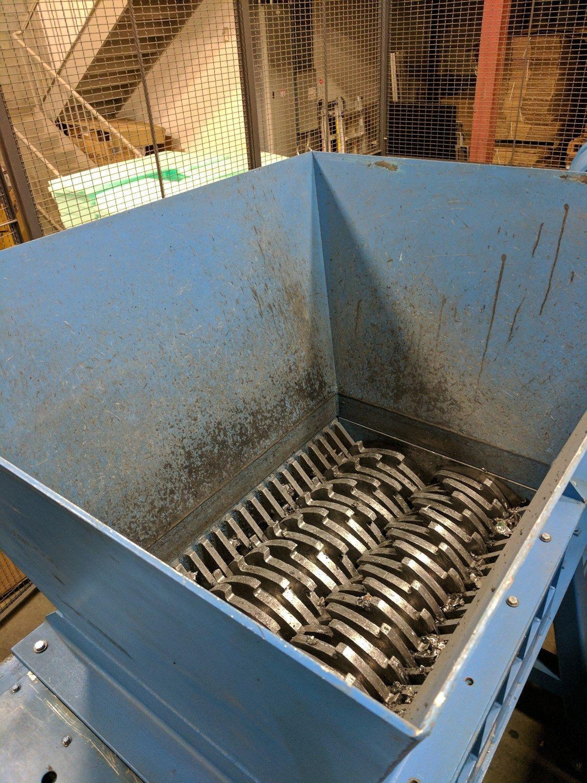 Franklin Miller Taskmaster Tm2842 Industrial Shredder Shredder Machine Shredder Recycling Machines