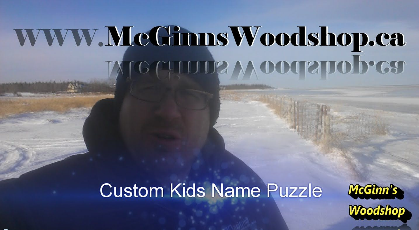 Making Custom Name Puzzles For Kids