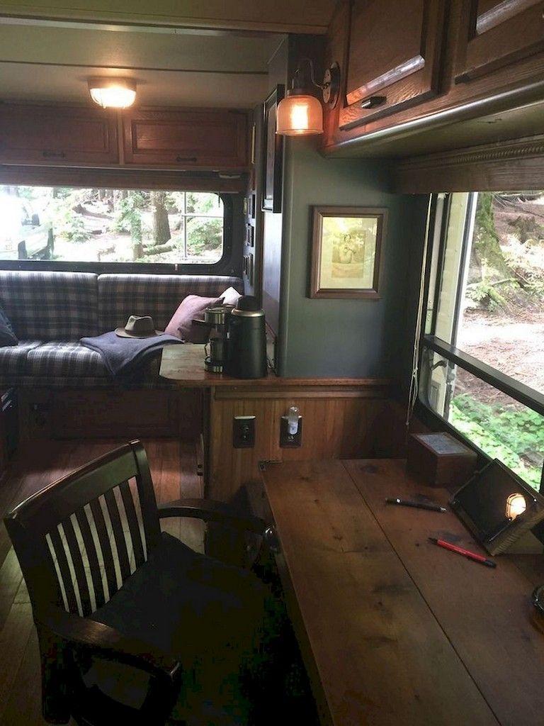 68 blazing rv living interior remodel ideas on a budget rh pinterest com