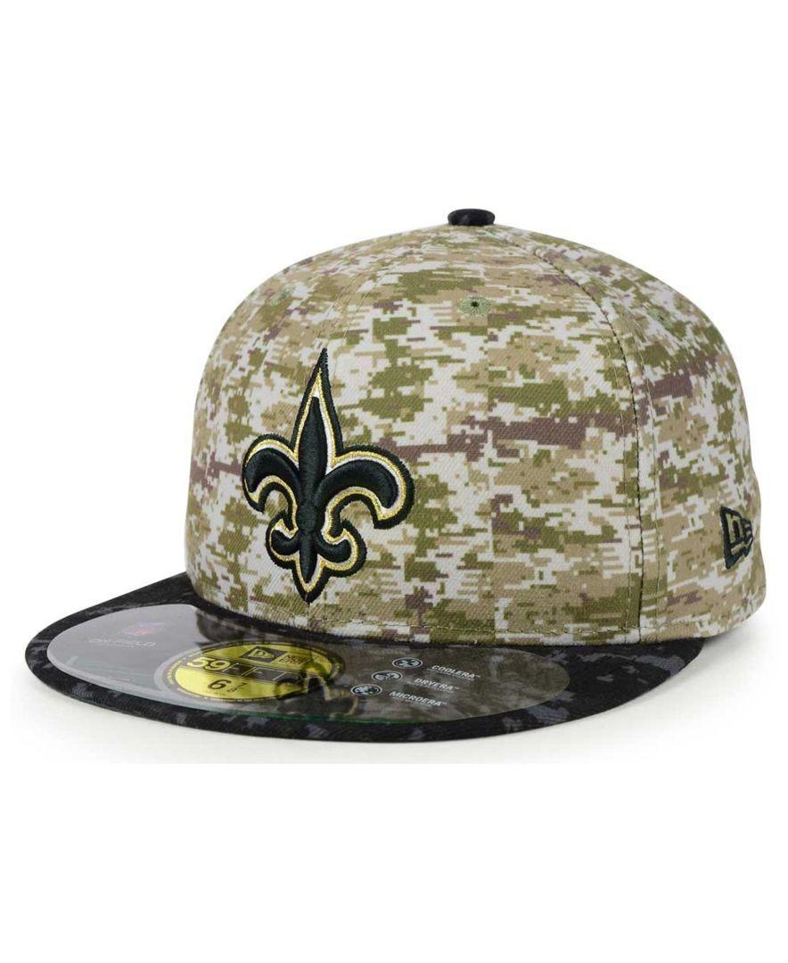 New Era LP 59Fifty Cap Sideline Away New Orleans Saints