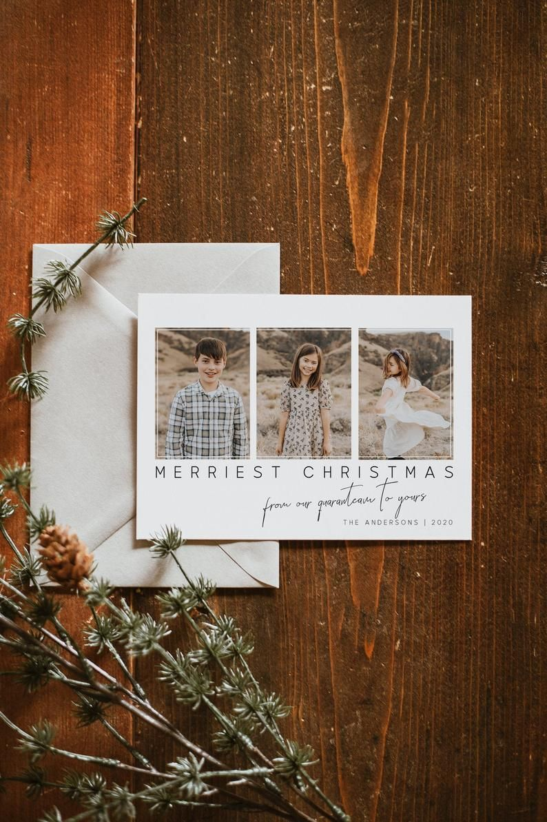 2020 Christmas Card With Photo Quaranteam Family Picture Etsy Printable Holiday Card Christmas Cards Family Pictures Holiday Cards
