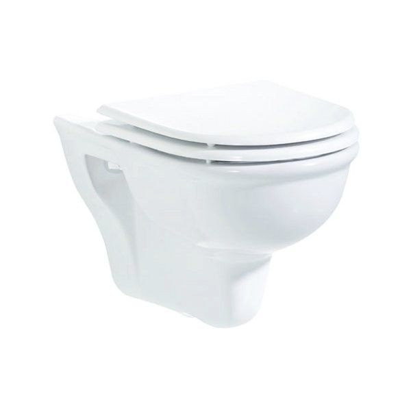 The Selen Combined Bidet Toilet Wall Hung Sleek Modern Euro
