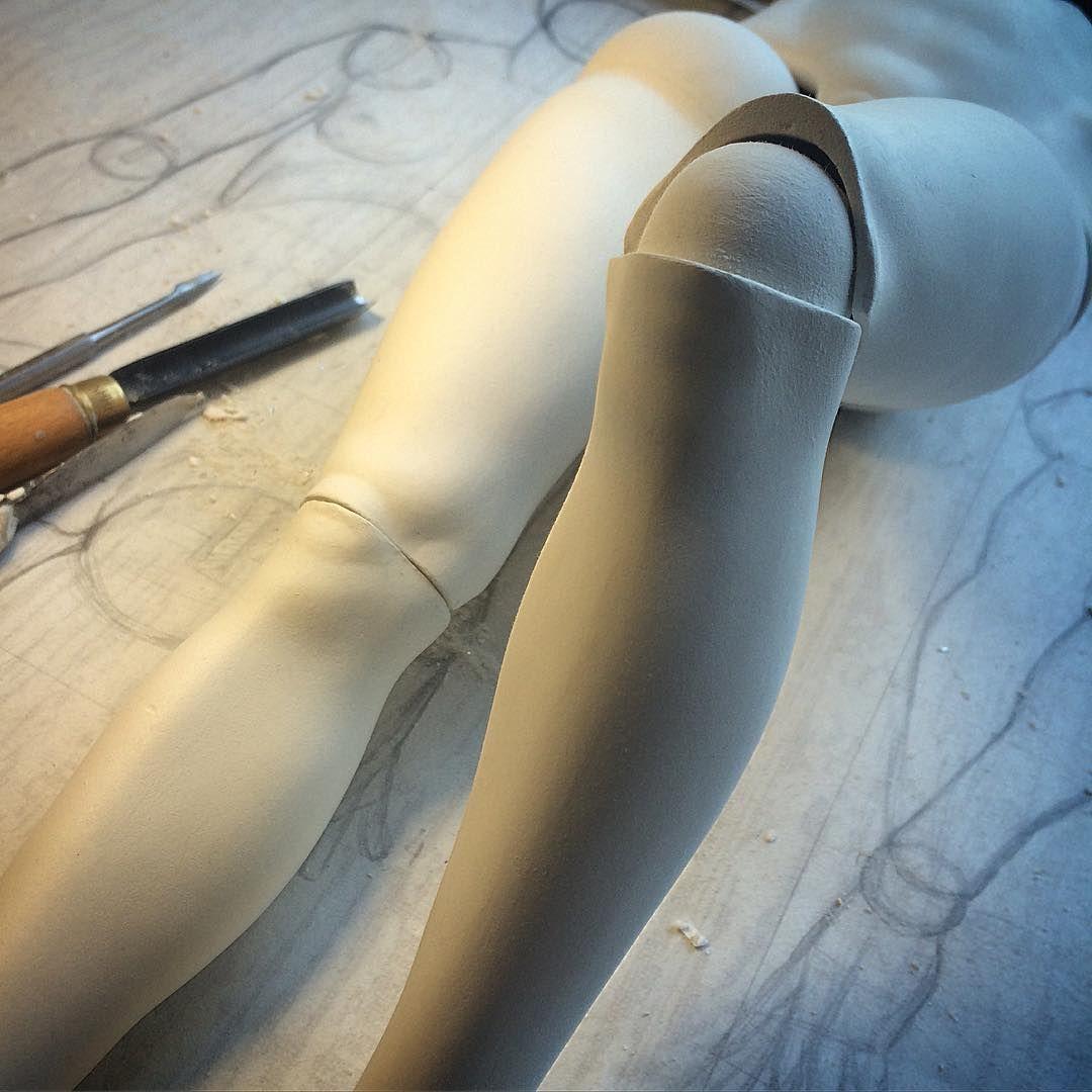 #craftdoll #sculpture #polymerclay
