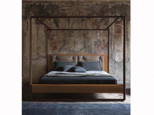 le lit baldaquin se refait une beaut chambre. Black Bedroom Furniture Sets. Home Design Ideas