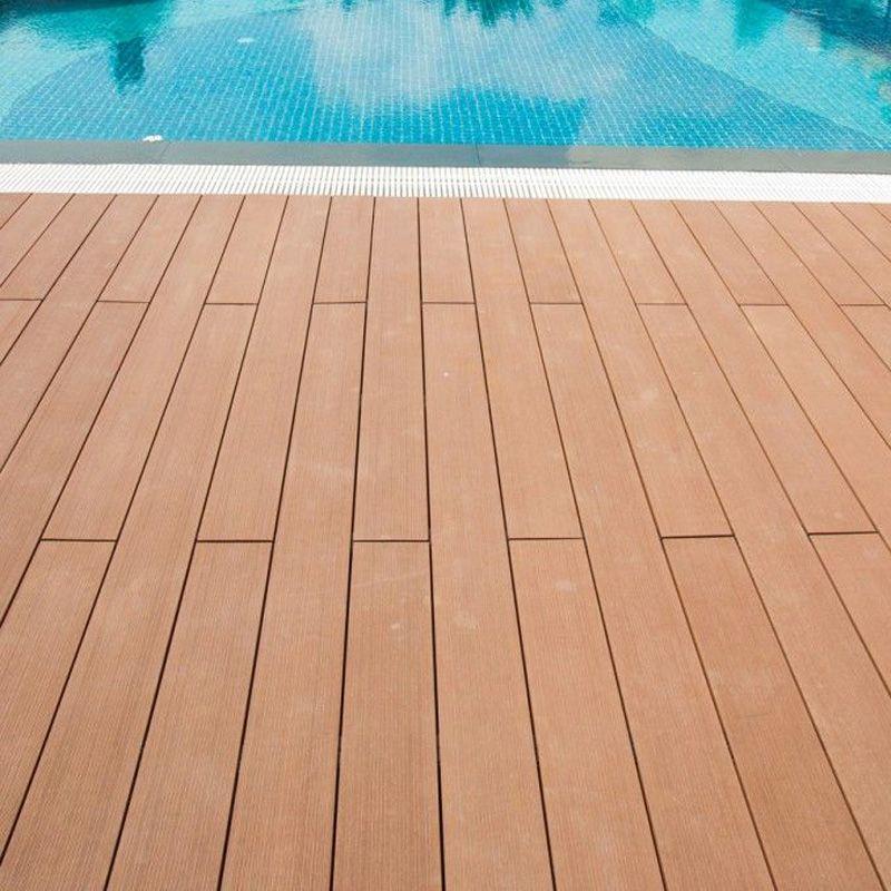 Wpc Waterproof Swimming Pool Deck Www Coowinmall Com Wpc Wpcdeck Deck Decking Outdoordecking Floor Ou Outdoor Flooring Outdoor Walls Outdoor Wall Panels