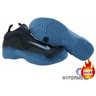 competitive price b1503 d9c97 Nike Air Flightposite One Royal Blue Black
