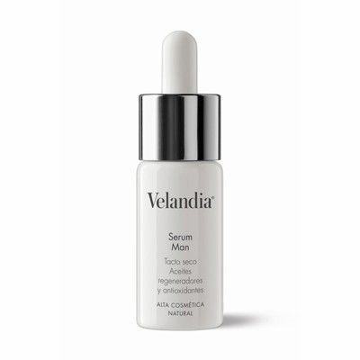 Nueva cosmética orgánica de alta gama.  Veladia serum Man con aceites organicos