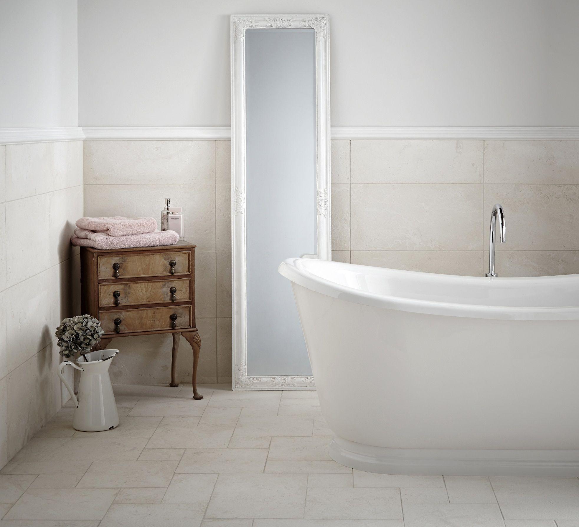 Cashmere Fossil Limestone | 60\'s | Pinterest | House, Bathroom ...