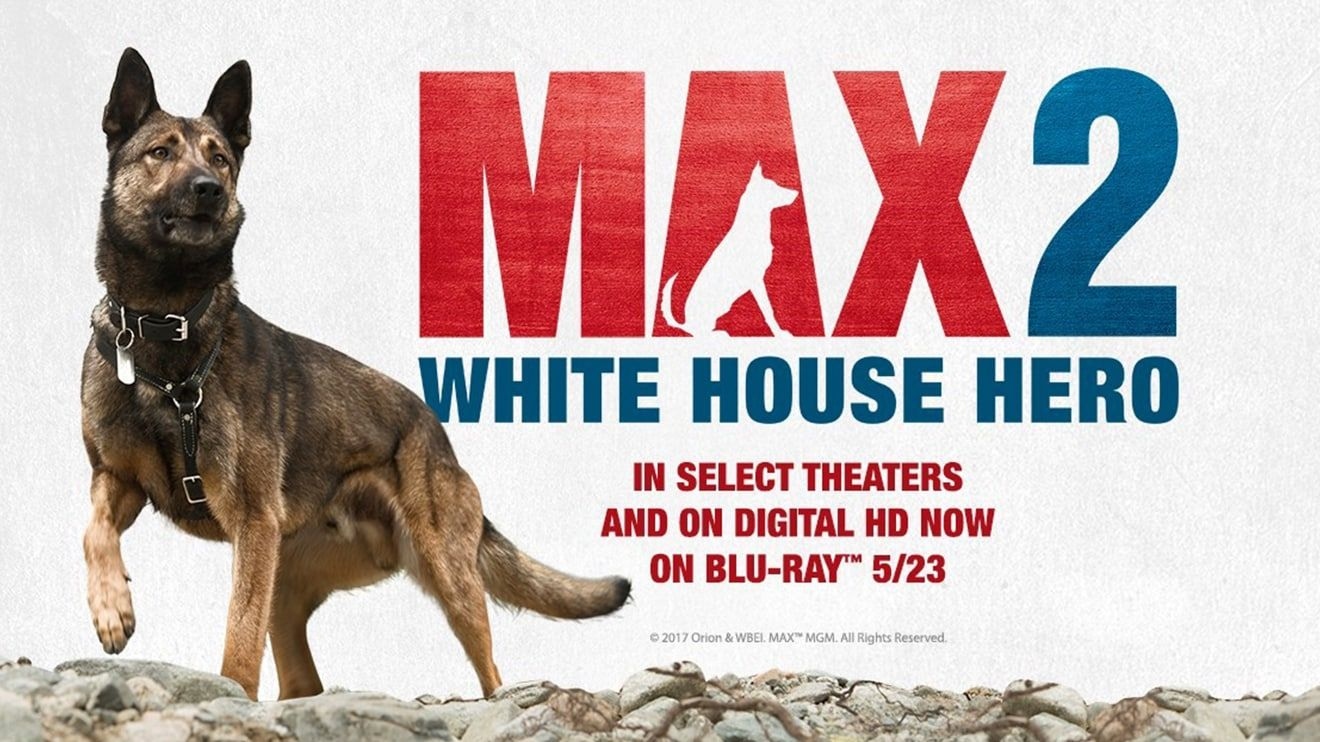MAX 2: White House Hero Blu-ray Combo Pack - Giveaway