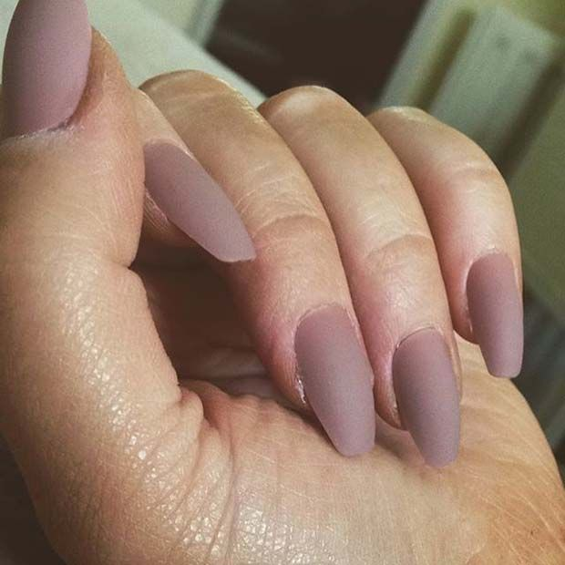 12 Must Have Matte Nail Designs For Fall Nailed It Pinterest