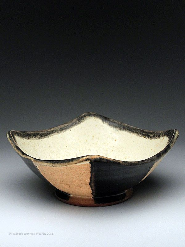 Courtney Martin Square Bowl at MudFire Gallery
